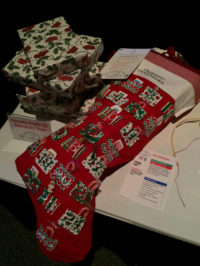 christmas countdown stocking holiday auction