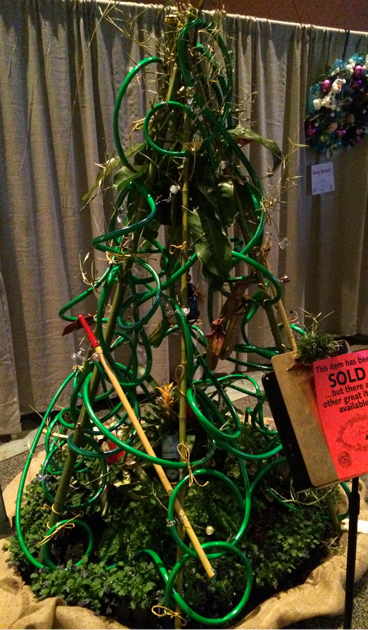 gardening christmas tree holiday auction