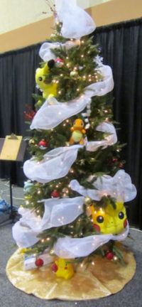 pokemon christmas tree holiday auction ideas