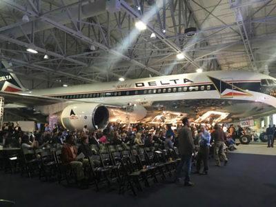 Charity Auction Themes - Airplane Hangar