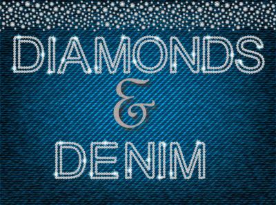Charity Auction Themes - Diamonds & Denim
