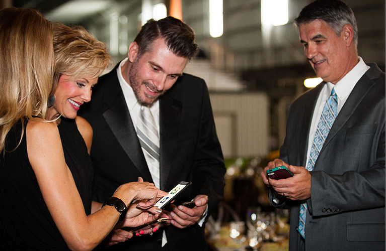 why qtego's mobile bidding for silent auctions delivers better results
