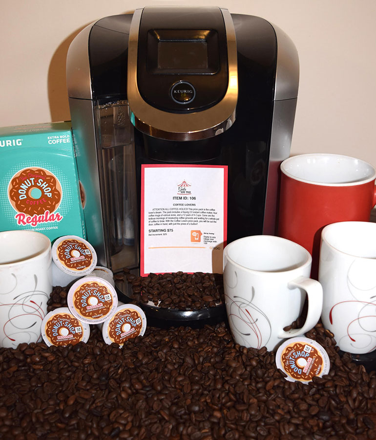 Qtego Silent Auction Item Ideas Coffee