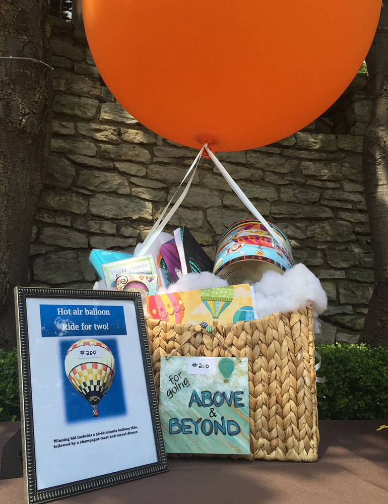Qtego Silent Auction Item Ideas Hot Air Balloon