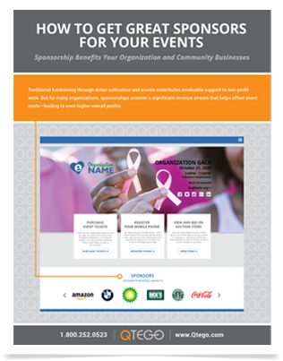 How to Get Great Sponsors For Your Charity Events