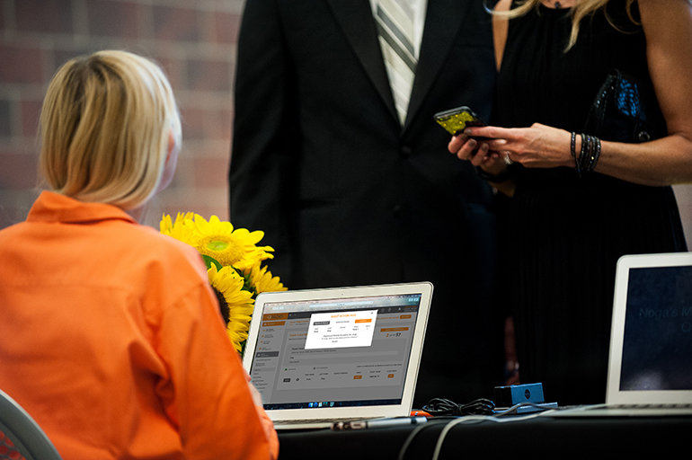 Guest Management Tool - Ticket Check-in