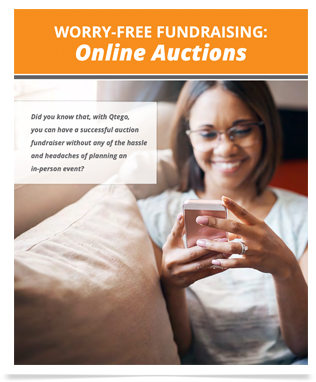 Qtego Online Auctions Virtual Fundraising