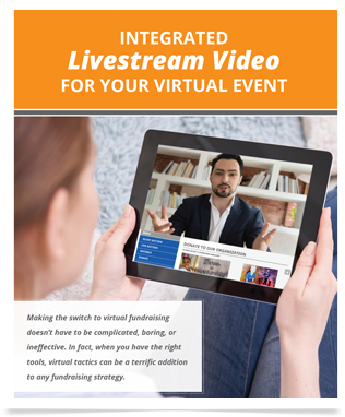 Qtego Livestream Virtual Fundraising Event