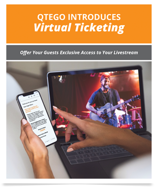 Qtego Livestream Virtual Ticketing