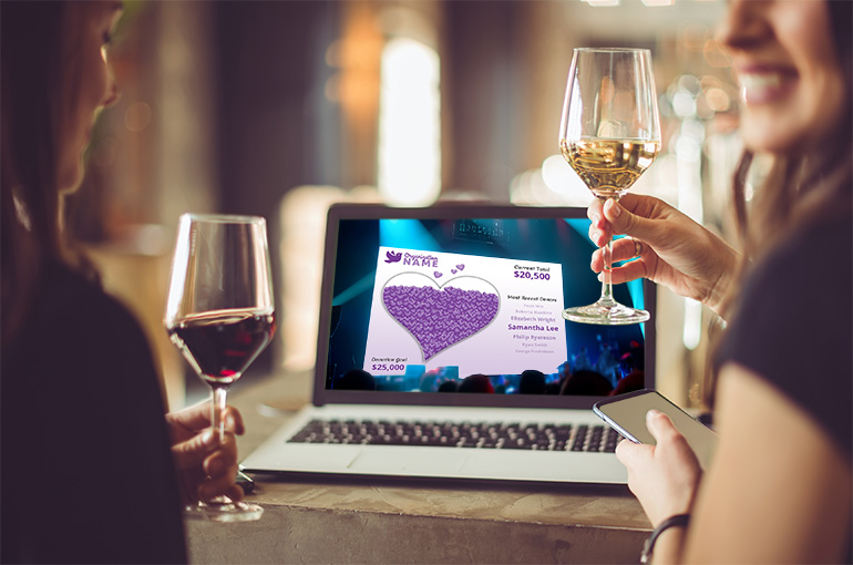 Why Qtego Virtual Ticketing Works - Guests love Qtego livestream fundraising events!